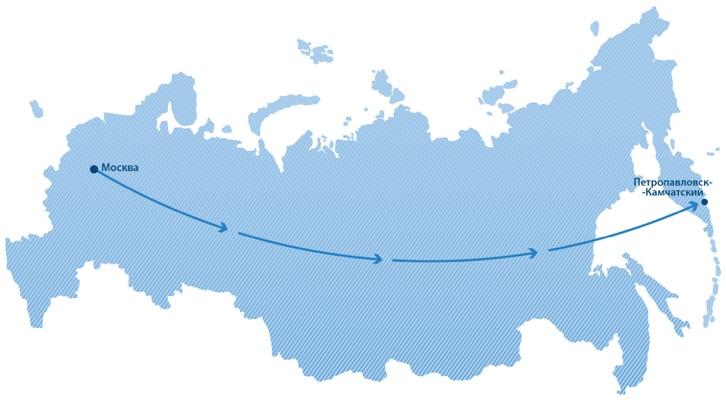 Петропавловск камчатский москва